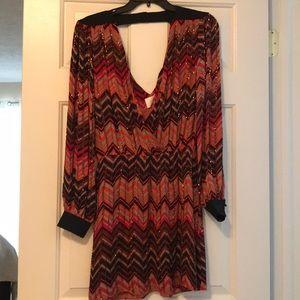 Parker Beaded Mini Dress XS